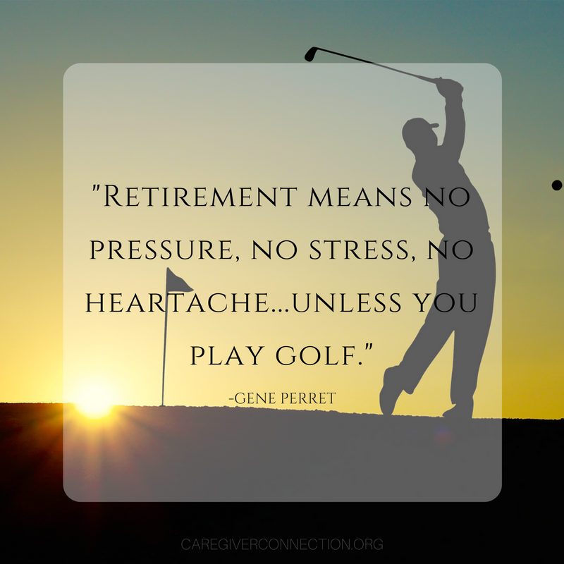 retirement quotes golf
