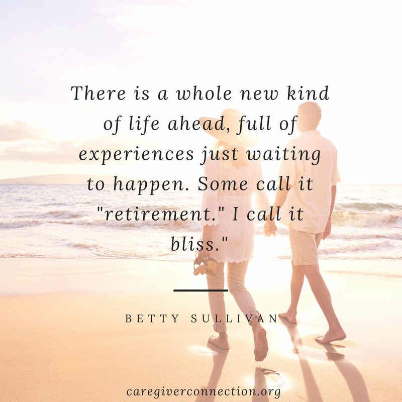retirement quotes bliss