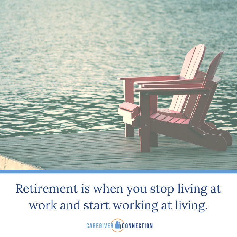 retirement quotes work at living