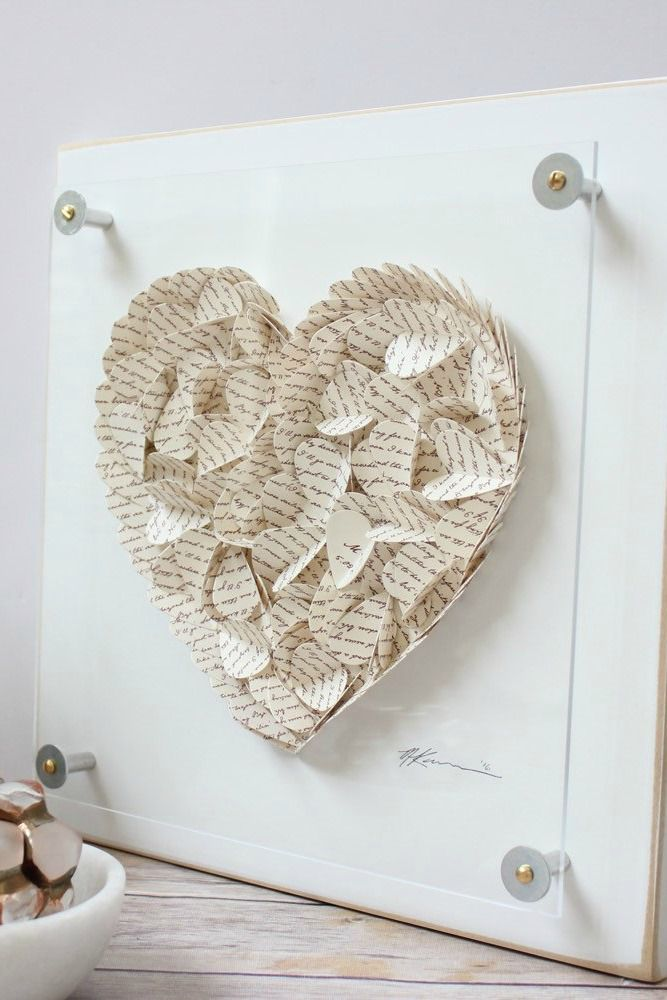 Framed Paper Art