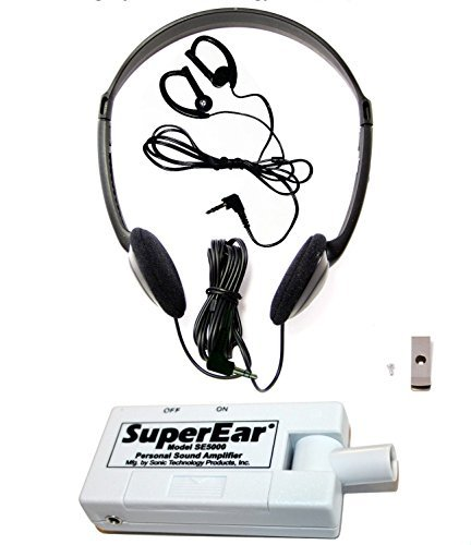 SuperEar Sonic Ear Personal Sound Amplifier