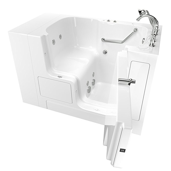 American Standard Outward Opening Door Walk-In Bathtub with Whirlpool