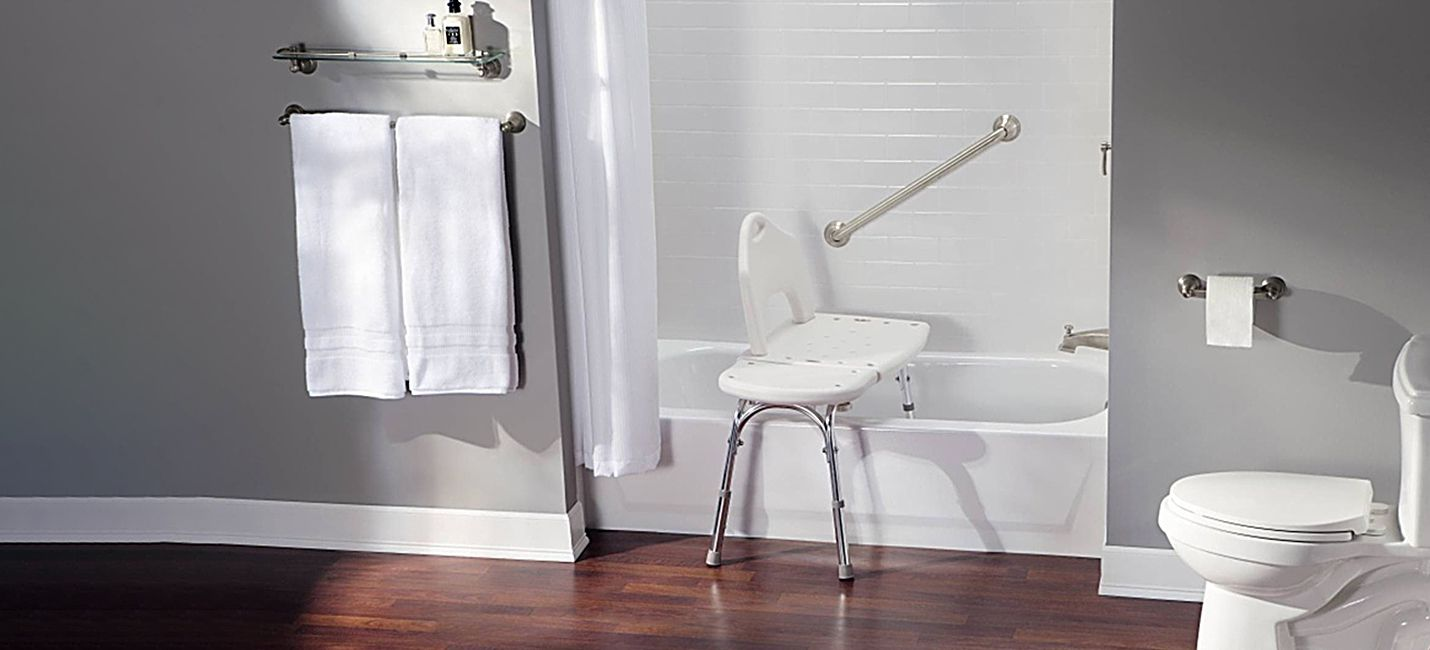 Carex shower chairs