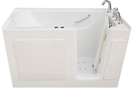 Signature Bath Air Injection and WhirlPool Bathtub (LP14730-C-RD)