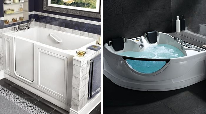 American Standard Walk-In Tubs and Ariel Bathtubs