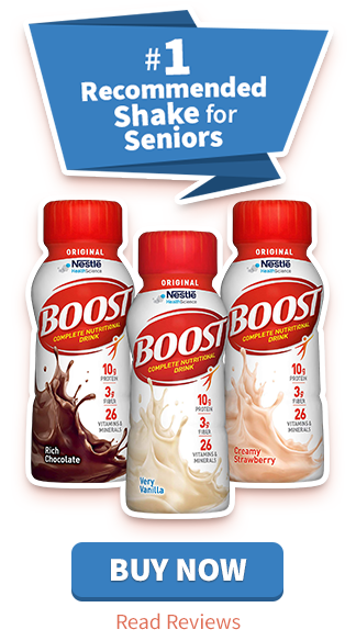 #1 Recommended Shake for Seniors: Our Top Pick - Boost Original Complete Nutritional Drink