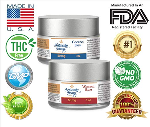 Hemp PainRelief Cream — Two Ounces